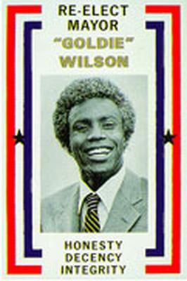 Mayor Goldie Wilson