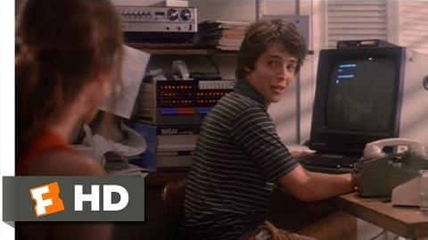 WarGames (3 11) Movie CLIP - Shall We Play a Game? (1983) HD
