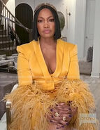 Garcelle-yellow-blazer-dress