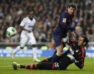 Diego Lopez vs Messi