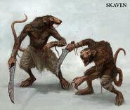 1058x900 2620 Skaven 2d fantasy beasts picture image digital art