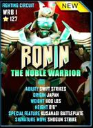 Ronin card