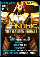 Anubis card