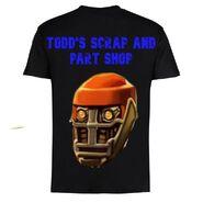 Todd's Scrap and Part Shop Merch