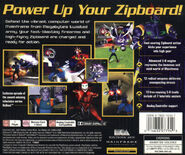 ReBoot video game (back)