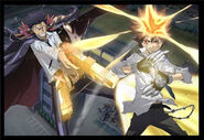 Xanxus and Tsuna Ring Battle