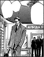 Bianchi and gokudera's father