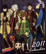 2011 calendar cover