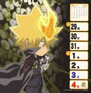 2009-2010 weekly calendar Mar 1