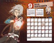 2010 calendar tabletop September