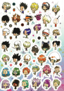 Colore Chibi Characters