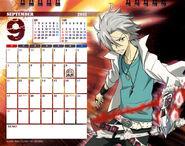 2011 calendar tabletop September