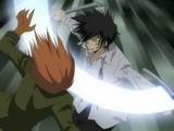Hayato Gokudera & Kyoya Hibari vs. Chikusa Kakimoto & Ken Joshima
