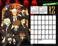 2012 calendar tabletop dec
