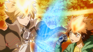 Tsuna y Giotto HD