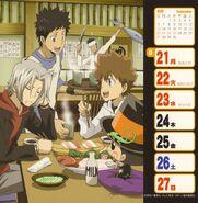 2009-2010 weekly calendar Sep 21