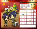 2011 calendar tabletop December