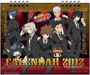 2012 calendar tabletop cover