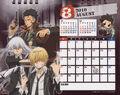2010 calendar tabletop August