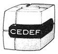 CEDEF box design manga