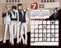 2010 calendar tabletop July