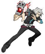 Spirits Burst render - Gokudera