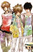 Reborn Colore cover book 1