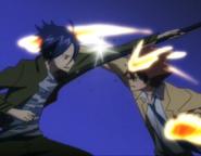 Mukuro vs Tsuna