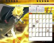 2011 calendar tabletop November