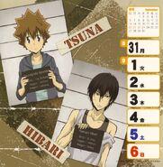 2009-2010 weekly calendar Sep 1