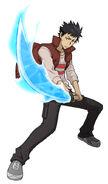 Spirits Burst render - Yamamoto