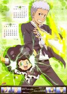 KHR 2013A calendar Ryohei & Lambo