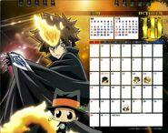 2011 calendar tabletop October