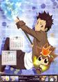 KHR 2013A Calendar Yamamoto & Reborn