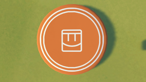 Frisbee Team Orange