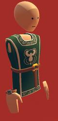 Green royal tabbard
