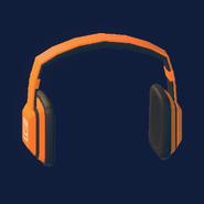 Notes Headphones (Orange)