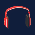 Notes Headphones (Neon Heat)