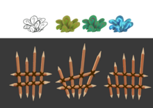 Plants and spikey fence.png
