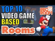 Top 10 Video Game Based Rooms in Rec Room