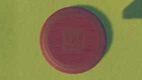 Frisbee Wooden