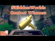 -HiddenWorlds Contest Winners!