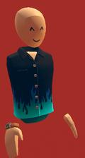 Blue flame shirt
