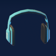 Notes Headphones (Blue)
