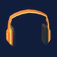 Notes Headphones (Neon Dawn)