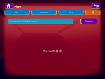 Watch Menu - Play (Search)