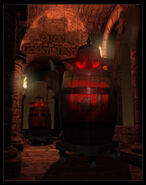 Barrel knights