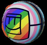 Basketball Skin - Rainbow