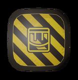Caution Shield - Render
