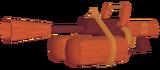 Paint Thrower Skin - Wood